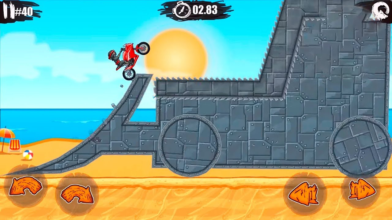 Moto X3m Motor Bike Race Game Bike Racing Games To Play Online For Android Free Games Youtube