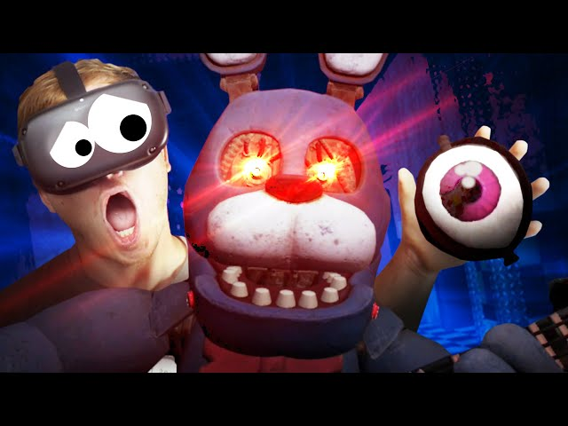 I RIPPED OUT BONNIE'S EVIL EYE and I REGRET EVERYTHING!!?! (FNAF VR Oculus Quest)