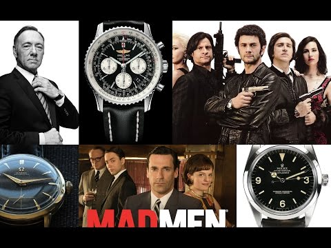 Top 3 TV Shows For Wrist Watch Fans - Rolex, Omega, Cartier,