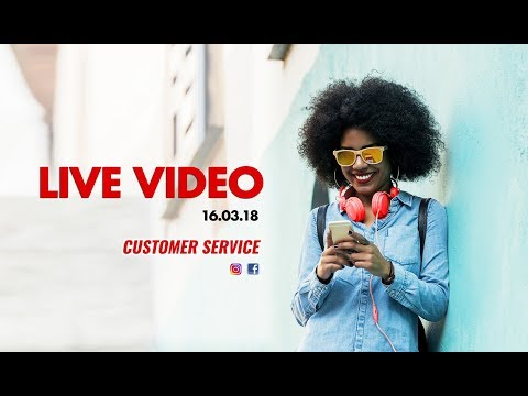 LIVE VIDEO CUSTOMER HANG OUT