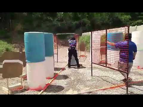 Robert Vogel 2017 Ohio State USPSA stage 3