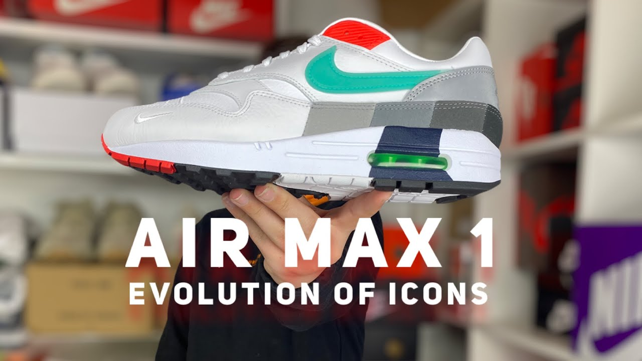 Air Max 1 Evolution of Icons