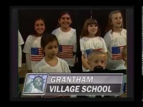 Grantham Village School - God Bless America - October 24, 2014