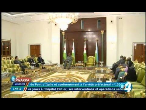 Télé Djibouti Chaine Youtube : JT Francais du 15/11/2017