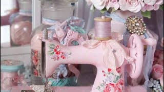 Diamond Painting Unboxing - Pink Sewing Machine from Fundaful
