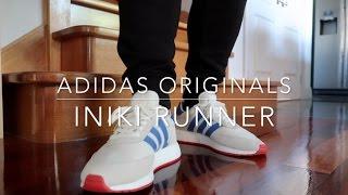 pretty nice 6d78d 3343c D Sneakerz - Adidas Originals Iniki Runner Boost  on Feet