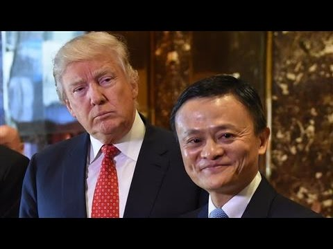 Alibaba's Jack Ma Meets With Trump, Vows to Create More U.S. Jobs