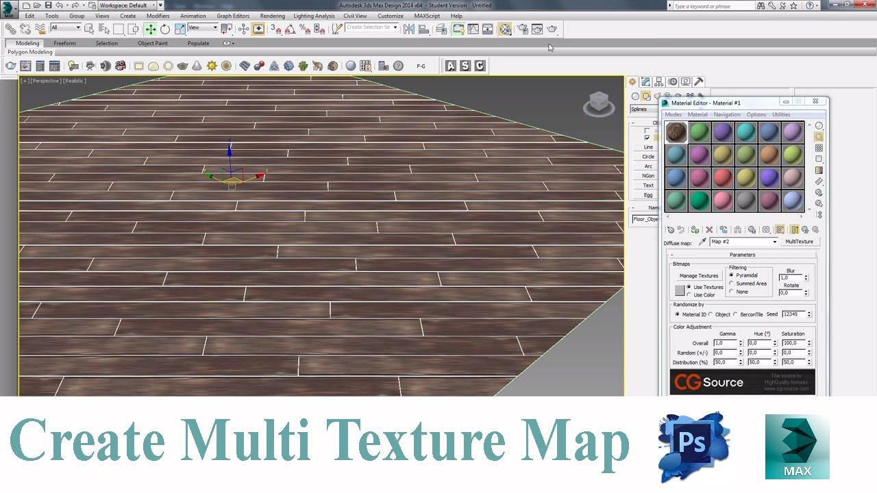 Create multitexture map