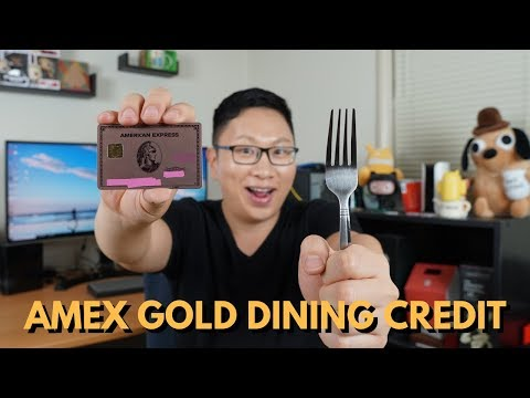 Amex Gold PSA: Dining Credit + Stacks w/ $10 off $15 Promo