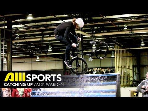 Zack Warden BMX Interview - Alli Sports Catching Up
