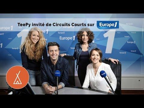 TeePy Entrepreneur sur Europe 1 - 17/05/18