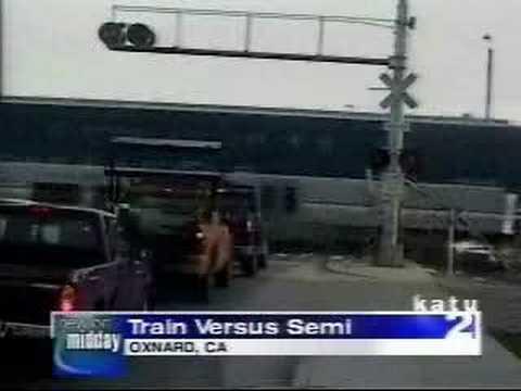 Train vs Truck 1