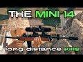 THE MINI 14 - LONG RANGE KILLS | PlayerUnknown's Battlegrounds