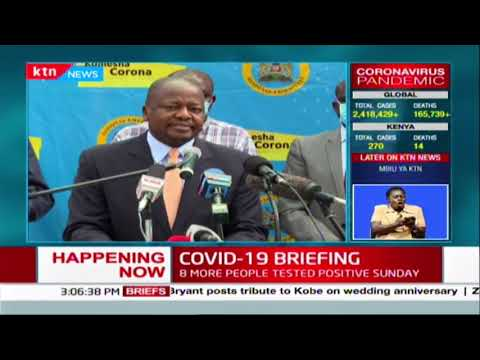 CS Mutahi Kagwe's full briefing on Kenya COVID-19 status