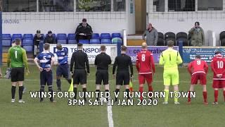 Winsford United v Runcorn Town NWCFL Premier Div 11/01/2020