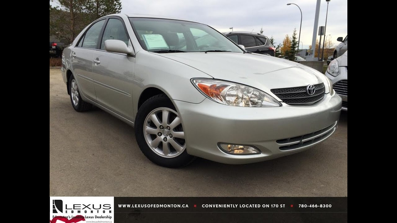 pre owned silver 2004 toyota camry xle v6 auto natl review wainwirght alberta youtube. Black Bedroom Furniture Sets. Home Design Ideas