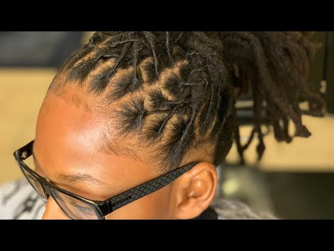 FAILED How To Do Locs For Beginners | Dreadlock Retwist | Natural Style