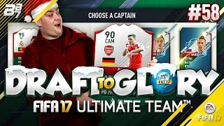 DRAFT TO GLORY! 50K PACK! #58 | FIFA 17 ULTIMATE TEAM