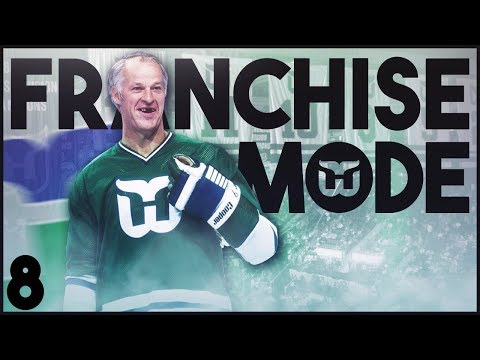 "NHL 18 - Hartford Whalers Franchise Mode #8 ""Season 2 Sim"""""
