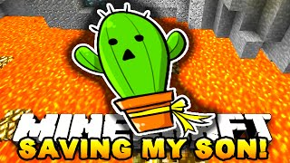 Minecraft - SAVING MY SON! (Parkour Maze Map!) - w/ PrestonPlayz