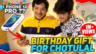 1 Lakh Rupees Special Birthday Gifts 🎁 || Chotulal Birthday 🥳 celebration - Two side  Gamers