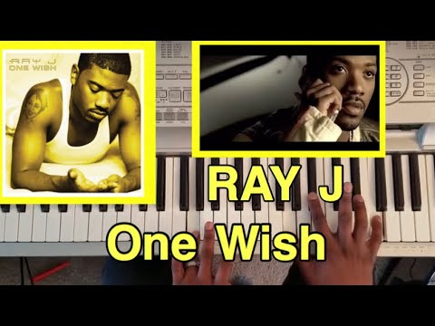 "RAY J ""One Wish "" (PIANO TUTORIAL) F minor"