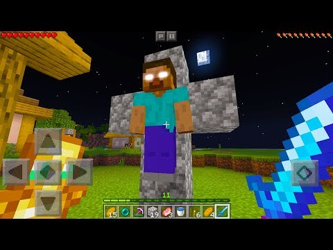 How To Spawn Herobrine In Minecraft!