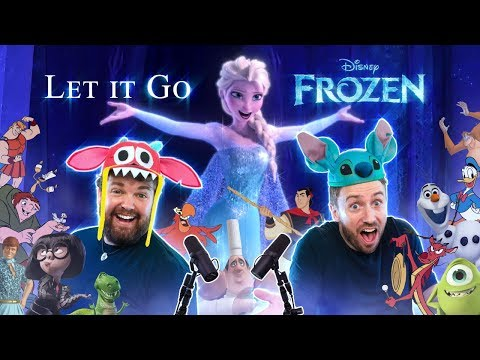 FROZEN: Let It Go - All Disney Characters SING Feat. @Brian Hull