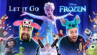 Download lagu FROZEN: Let It Go - All Disney Characters SING feat. @Brian Hull