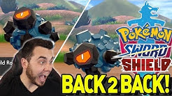 BACK TO BACK SHINY ROLYCOLY! INSANE SHINY REACTION in Pokemon Sword and Shield!
