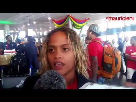 Roilya Ranaivosoa face à la presse