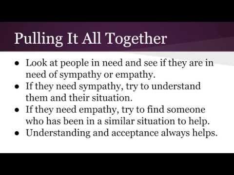 Podcast Episode 7 - Sympathy Vs. Empathy