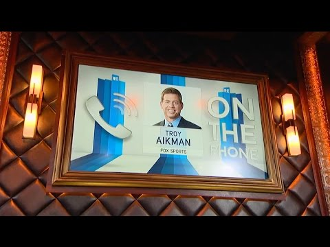 Hall of Famer Troy Aikman Talks Players Safety & DeMarco Murray (Full Interview) - 3/18/15