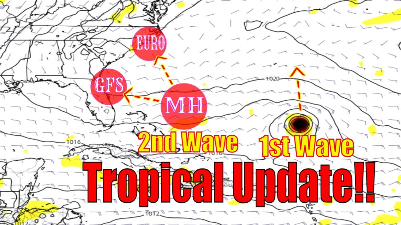Potential Atlantic Major Hurricane Confirmed By Euro & Gfs! - Tropical Update - The WeatherMan Plus