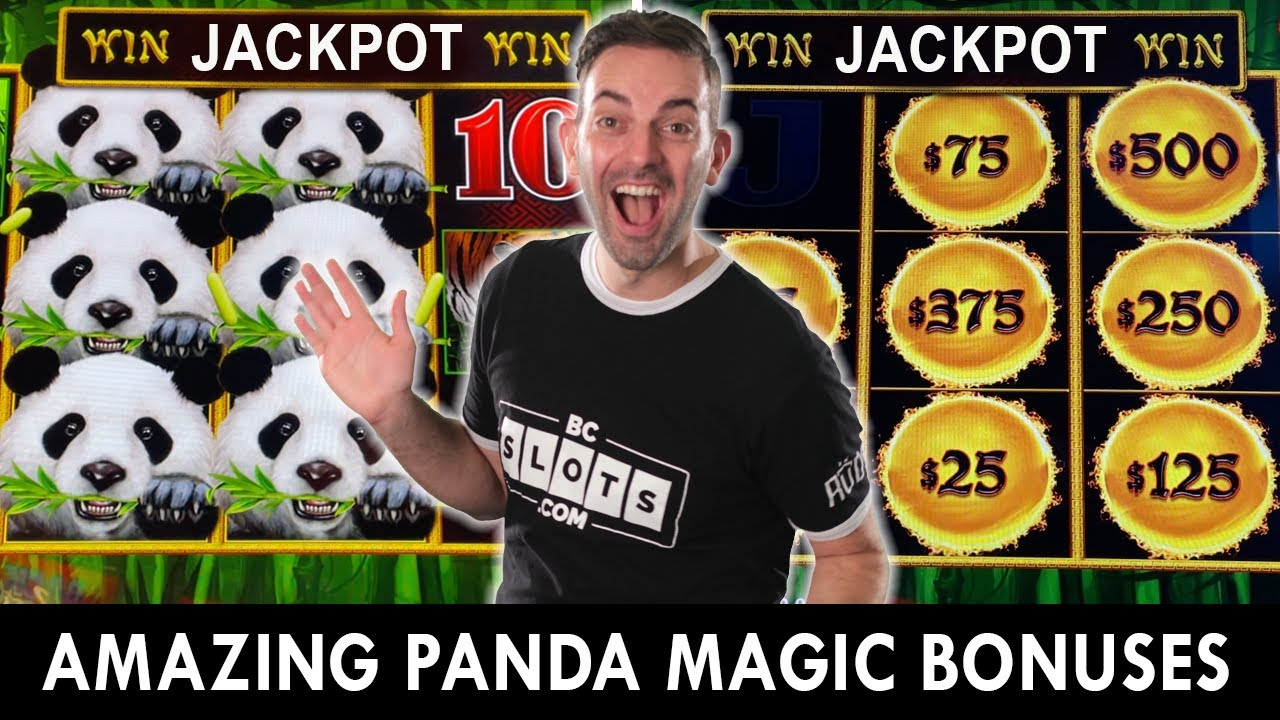 💵 JACKPOT Win 💵 Amazing Panda Magic Bonuses