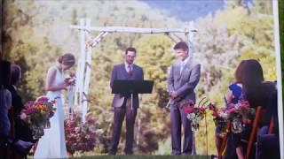 Wedding Awning or Trellis or Arbor?