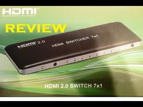 HDMI Switcher Review-Do Not Buy A Switcher Before Watching This Video