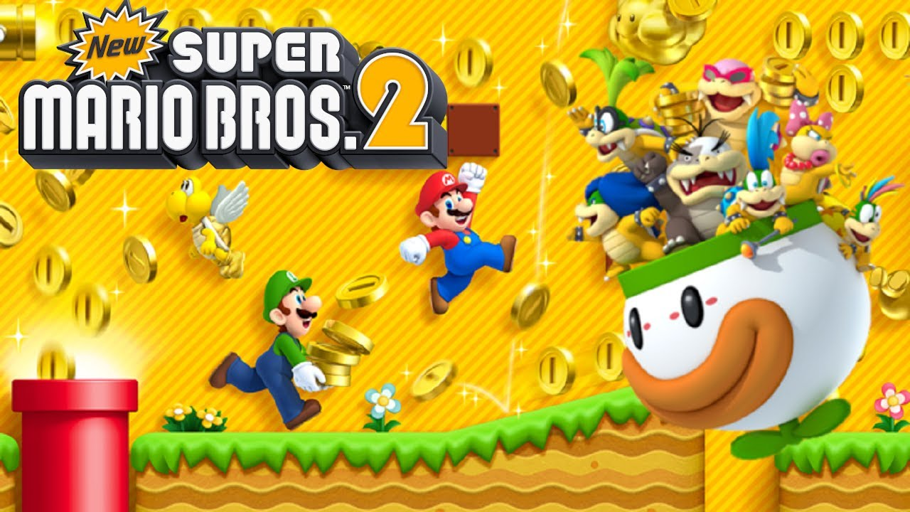 New Super Mario Bros 2 Full Game Walkthrough Youtube