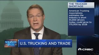 American Trucking Assoc Ceo On Trade Impact
