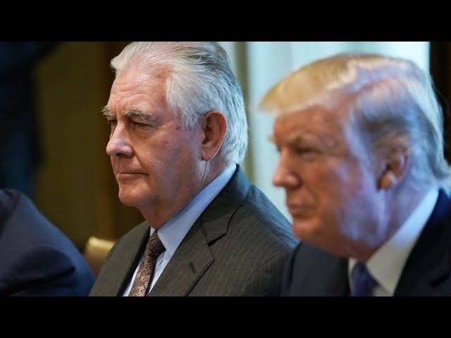 If Tillerson's Out, is Iran War In?