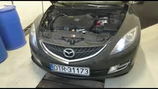 Mazda 6 2.0 Diesel 2008  filtr cząstek stałych