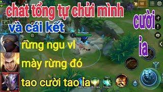 Troll Game - Chat Tổng Tự Chửi Mình Thử Phản Ứng Của 2 Team Và Cái Kết   Yo Game