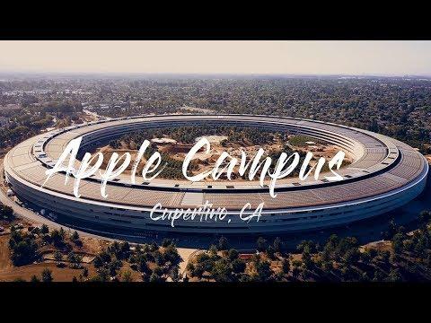 DJI Mavic Pro - Apple Campus 2 4K Footage July 2017