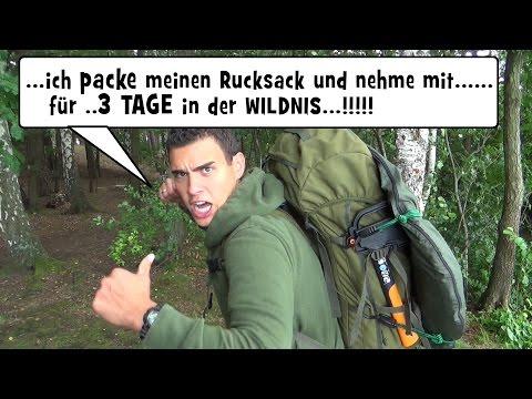 Survival Mattin packt seinen Berghaus Rucksack und nimmt mit....!!!