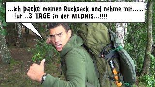 """""""Survival Mattin"""" packt seinen Berghaus Rucksack und nimmt mit....!!!"""