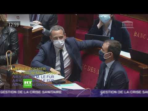 Reprise des débats à l'Assemblée nationale sur le projet de loi généralisant le pass sanitaire