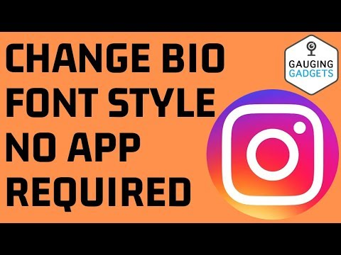 How To Change Font Style In Instagram Bio - NO APP REQUIRED - Instagram Fancy Text Tutorial