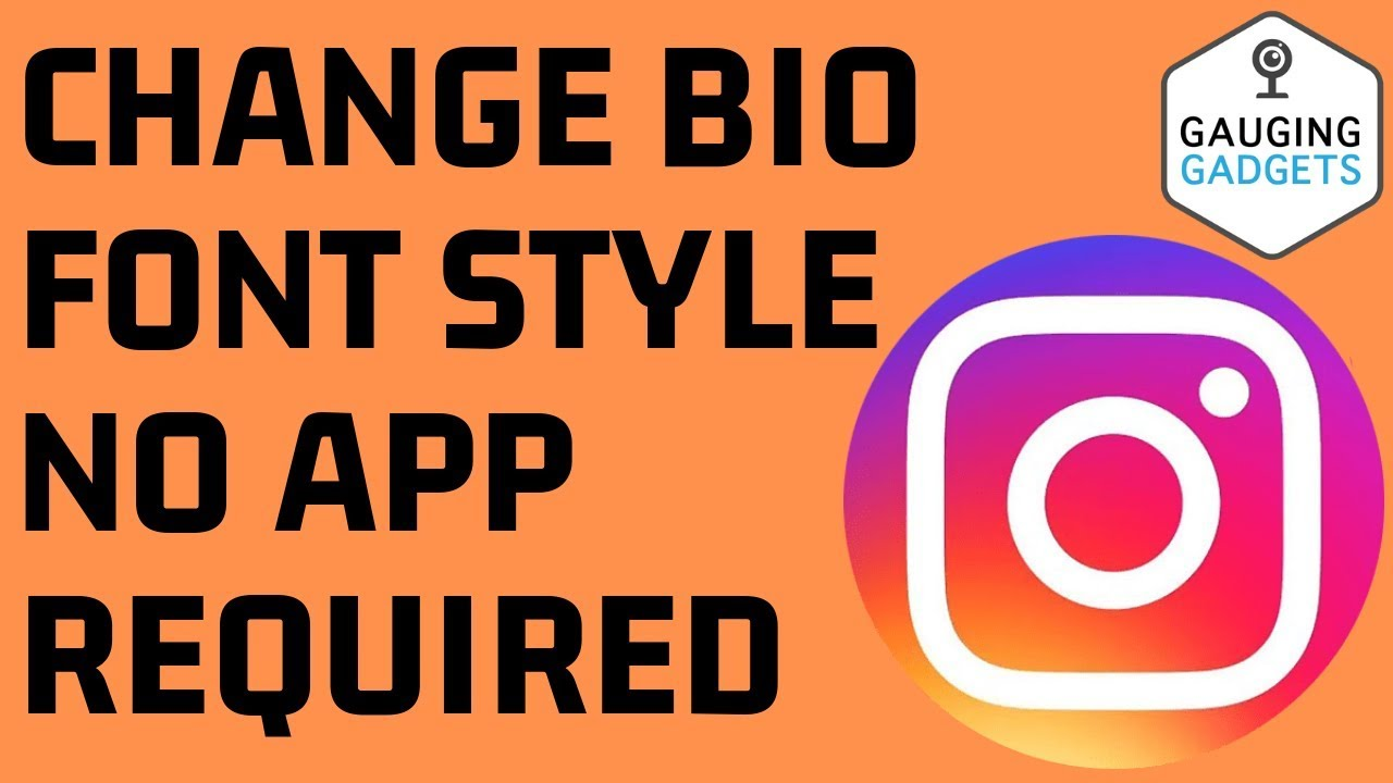 How To Change Font Style In Instagram Bio No App Required Instagram Fancy Text Tutorial Youtube