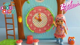 Zapf Creation mini CHOU CHOU Birdies Cuckoo Clockhouse Toy unboxing