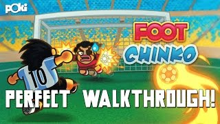 Goal!!! Foot Chinko Oceana Cup Perfect Walkthrough, Poki